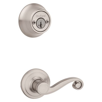 Lido and Deadbolt Interior Pack - Left Handed - Deadbolt Keyed Both Sides - featuring SmartKey - for Kwikset Series 689 Handlesets