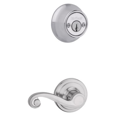 Product Image for Lido and Deadbolt Interior Pack - Right Handed - Deadbolt Keyed Both Sides - with Pin & Tumbler - for Kwikset Series 689 Handlesets