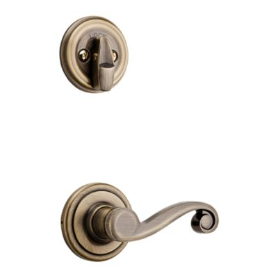 Product Image for Lido and Deadbolt Interior Pack - Left Handed - Deadbolt Keyed One Side - for Signature Series 800 and 814 Handlesets