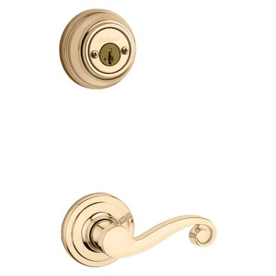 Product Image for Lido and Deadbolt Interior Pack - Left Handed - Deadbolt Keyed Both Sides - featuring SmartKey - for Signature Series 801 Handlesets