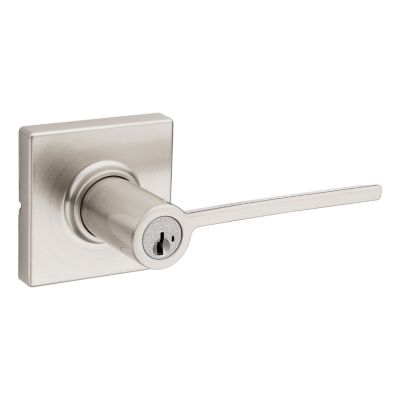 Ladera Lever (Square) - Keyed - featuring SmartKey