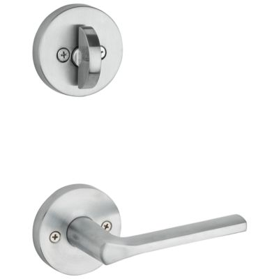 Image for Lisbon and Deadbolt Interior Pack (Round) - Deadbolt Keyed One Side - for Signature Series 800 and 814 Handlesets
