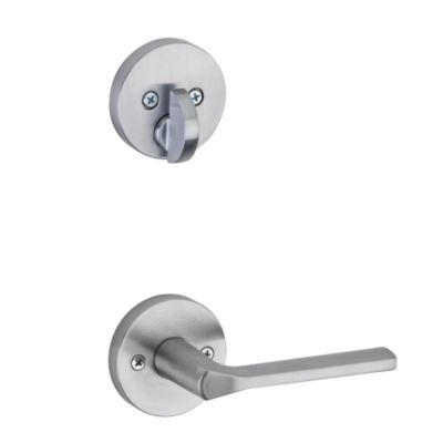 Lisbon and Deadbolt Interior Pack (Round) - Deadbolt Keyed One Side - for Signature Series 814 and 818 Handlesets