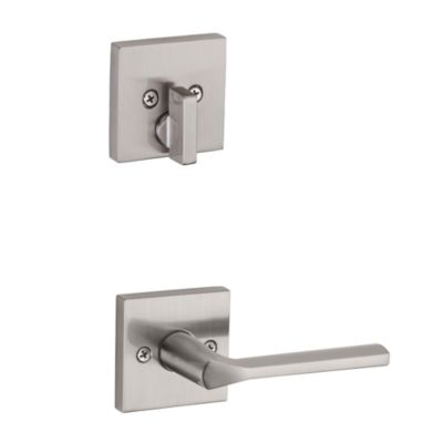 Image for Lisbon and Deadbolt Interior Pack (Square) - Deadbolt Keyed One Side - for Signature Series 814 and 818 Handlesets