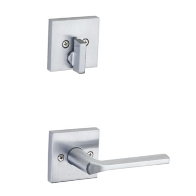 Lisbon and Deadbolt Interior Pack (Square) - Deadbolt Keyed One Side - for Signature Series 814 and 818 Handlesets