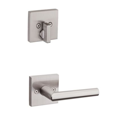 Milan and Deadbolt Interior Pack (Square) - Deadbolt Keyed One Side - for Signature Series 814 and 818 Handlesets