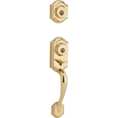 Image for Montara Handleset - Deadbolt Keyed Both Sides (Exterior Only) - featuring SmartKey