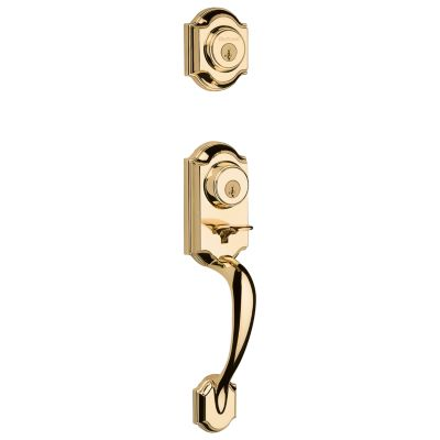 Montara Handleset - Deadbolt Keyed One Side (Exterior Only) - featuring SmartKey