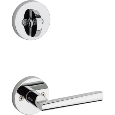 Montreal and Deadbolt Interior Pack (Round) - Deadbolt Keyed One Side - for Signature Series 800 and 814 Handlesets