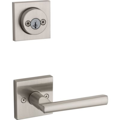 Product Image for Montreal and Deadbolt Interior Pack (Square) - Deadbolt Keyed Both Sides - featuring SmartKey - for Signature Series 801 Handlesets