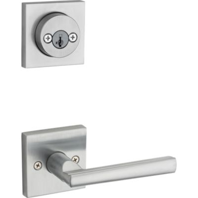 Image for Montreal and Deadbolt Interior Pack (Square) - Deadbolt Keyed Both Sides - featuring SmartKey - for Signature Series 801 Handlesets
