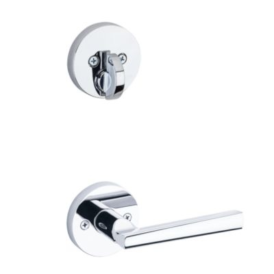 Montreal and Deadbolt Interior Pack (Round) - Deadbolt Keyed One Side - for Signature Series 814 and 818 Handlesets