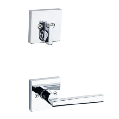 Montreal and Deadbolt Interior Pack (Square) - Deadbolt Keyed One Side - for Signature Series 814 and 818 Handlesets