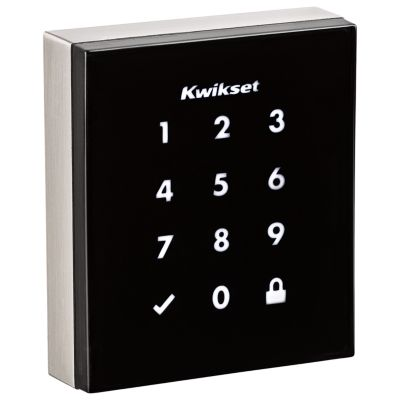 Obsidian Keywayless Electronic Touchscreen Smart Deadbolt with Zigbee Technology