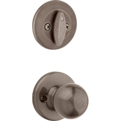 Image for Polo and Deadbolt Interior Pack - Deadbolt Keyed One Side - for Kwikset Series 687 Handlesets