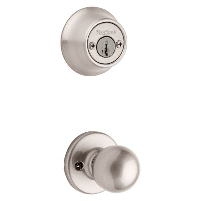 Polo and Deadbolt Interior Pack - Deadbolt Keyed Both Sides - featuring SmartKey - for Kwikset Series 689 Handlesets