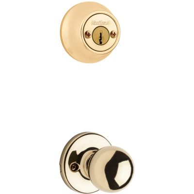 Product Image for Polo and Deadbolt Interior Pack - Deadbolt Keyed Both Sides - with Pin & Tumbler - for Kwikset Series 689 Handlesets