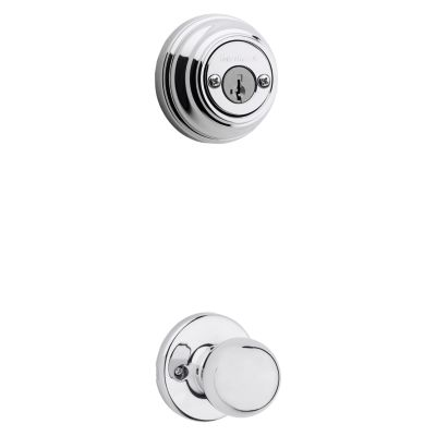 Polo and Deadbolt Interior Pack - Deadbolt Keyed Both Sides - featuring SmartKey - for Signature Series 801 Handlesets
