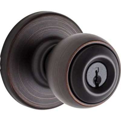 Polo Knob - Keyed - with Pin & Tumbler