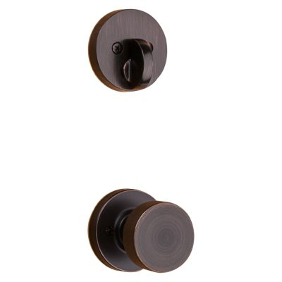 Image for Pismo and Deadbolt Interior Pack (Round) - Deadbolt Keyed One Side - for Signature Series 814 and 818 Handlesets
