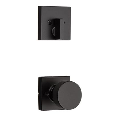 Pismo and Deadbolt Interior Pack (Square) - Deadbolt Keyed One Side - for Signature Series 814 and 818 Handlesets