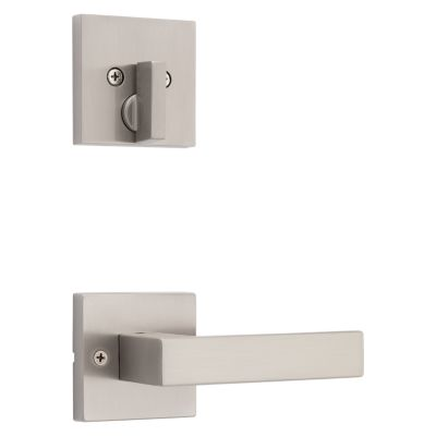 Image for Singapore and Deadbolt Interior Pack (Square) - Deadbolt Keyed One Side - for Signature Series 814 and 818 Handlesets