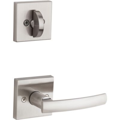 Image for Sydney and Deadbolt Interior Pack (Square) - Deadbolt Keyed One Side - for Signature Series 800 and 814 Handlesets