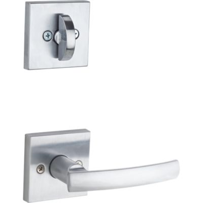 Sydney and Deadbolt Interior Pack (Square) - Deadbolt Keyed One Side - for Signature Series 800 and 814 Handlesets