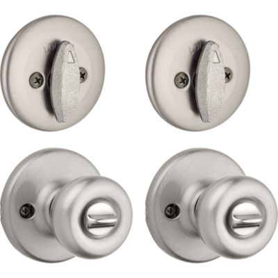 Tylo Project Pack - Two Keyed Knobs and Two Keyed One Side Deadbolts - with Pin & Tumbler