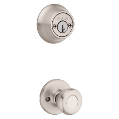 Tylo and Deadbolt Interior Pack - Deadbolt Keyed Both Sides - with Pin & Tumbler - for Kwikset Series 689 Handlesets