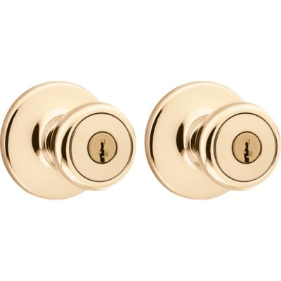 Image for Tylo Project Pack - Two Keyed Knobs - with Pin & Tumbler