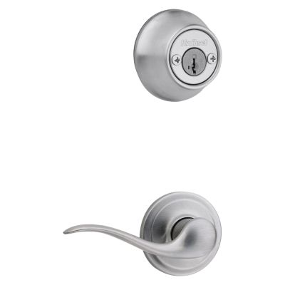 Product Image for Tustin and Deadbolt Interior Pack - Right Handed - Deadbolt Keyed Both Sides - with Pin & Tumbler - for Kwikset Series 689 Handlesets