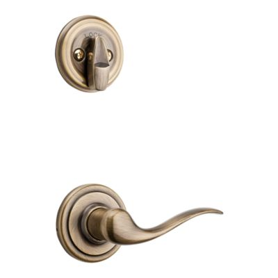 Image for Tustin and Deadbolt Interior Pack - Left Handed - Deadbolt Keyed One Side - for Signature Series 800 and 814 Handlesets