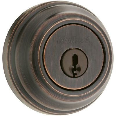 980 Deadbolt - Keyed One Side - with Pin & Tumbler