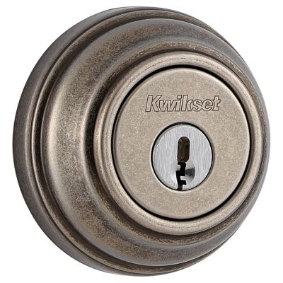 Image for 980 Deadbolt - Keyed One Side - with Pin & Tumbler