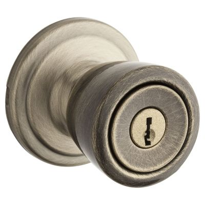 Image for Abbey Knob - Keyed - with Pin & Tumbler