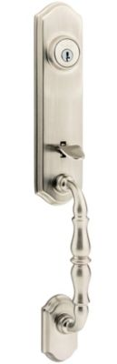 Image for Amherst Handleset - Deadbolt Keyed Both Sides (Exterior Only) - with Pin & Tumbler