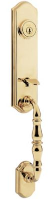 Amherst Handleset - Deadbolt Keyed Both Sides (Exterior Only) - with Pin & Tumbler