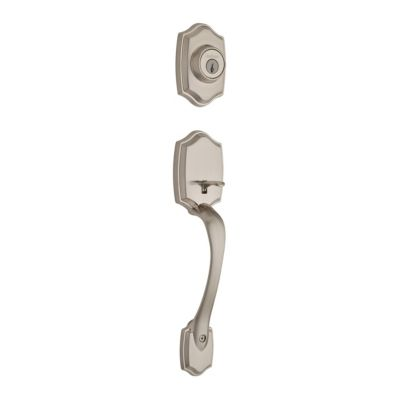 Image for Belleview Handleset - Deadbolt Keyed One Side (Exterior Only) - with Pin & Tumbler