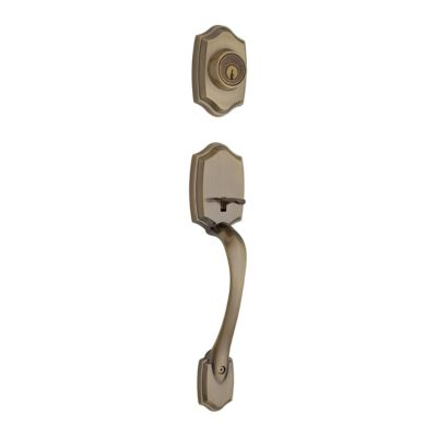 Belleview Handleset - Deadbolt Keyed One Side (Exterior Only) - with Pin & Tumbler