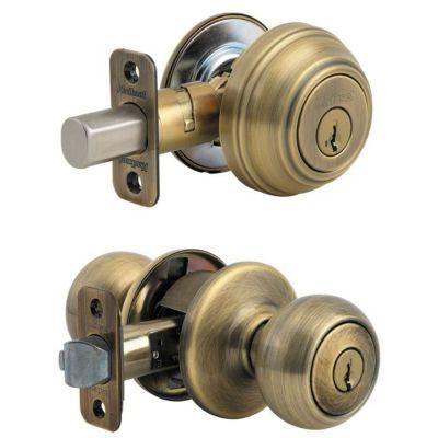 Image for Copa Security Set - Deadbolt Keyed One Side