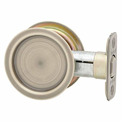 93340 - Round Pocket Door Lock