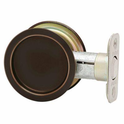 93340 - Round Pocket Door Lock