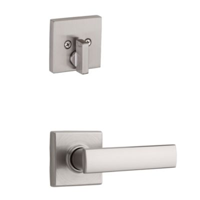 Product Image for Vedani and Deadbolt Interior Pack (Square) - Deadbolt Keyed One Side - for Signature Series 814 and 818 Handlesets