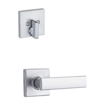 Image for Vedani and Deadbolt Interior Pack (Square) - Deadbolt Keyed One Side - for Signature Series 814 and 818 Handlesets