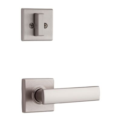 Vedani and Deadbolt Interior Pack (Square) - Deadbolt Keyed One Side - for Signature Series 800 and 814 Handlesets