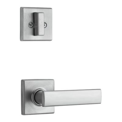 Image for Vedani and Deadbolt Interior Pack (Square) - Deadbolt Keyed One Side - for Signature Series 800 and 814 Handlesets