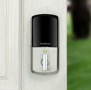 Aura Smart Bluetooth Door Lock Front View