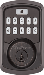 Venetian Bronze Aura Smart Bluetooth Door Lock