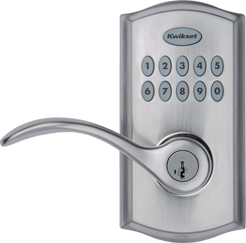 SmartCode 955 commercial keypad door lock in Satin Chrome
